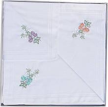 Комплект женских носовых платков Guasch 58150-76 Белый 796, КОД: 1371492