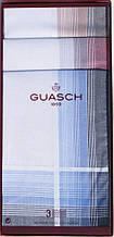 Комплект мужских носовых платков Guasch 104.92 D.20 233, КОД: 1371547