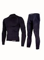 Комплект мужского термобелья Haster ProClima XS Черный h0171, КОД: 124702
