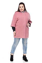 Женское пальто ORIGA Дорис 56 Темная пудра, КОД: 2373372