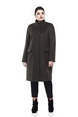 Женское пальто ORIGA Лада 56 Хаки 02Lada-хаки56, КОД: 2374427