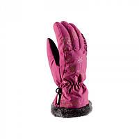 Рукавиці гірськолижні жіночі Viking Jaspis 7 S Рожевий 46, КОД: 2417128