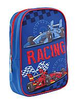 Рюкзак детский 1 Вересня K-18 Racing Синий 556423, КОД: 1259287