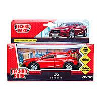 Автомодель Технопарк Infiniti Qx30 Красный QX70-RD, КОД: 2431849