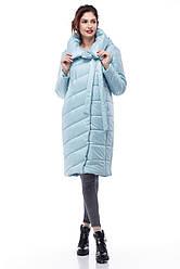 Зимняя женская куртка ORIGA Вероника 50 Голубой, КОД: 1341614