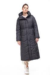 Зимняя женская куртка ORIGA Клер 46 черный, КОД: 2365973