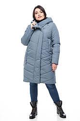 Зимняя женская куртка ORIGA Легенда 48 малахит, КОД: 2368817