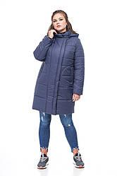 Зимняя женская куртка ORIGA Флорис 58 синий, КОД: 2368895