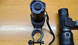 Крепление на руль поворотное для больших фонарей с АКБ до 26650, фото 4