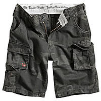 Шорты Surplus Trooper Shorts Black Camo L Черный 07-5600-42-L, КОД: 690783
