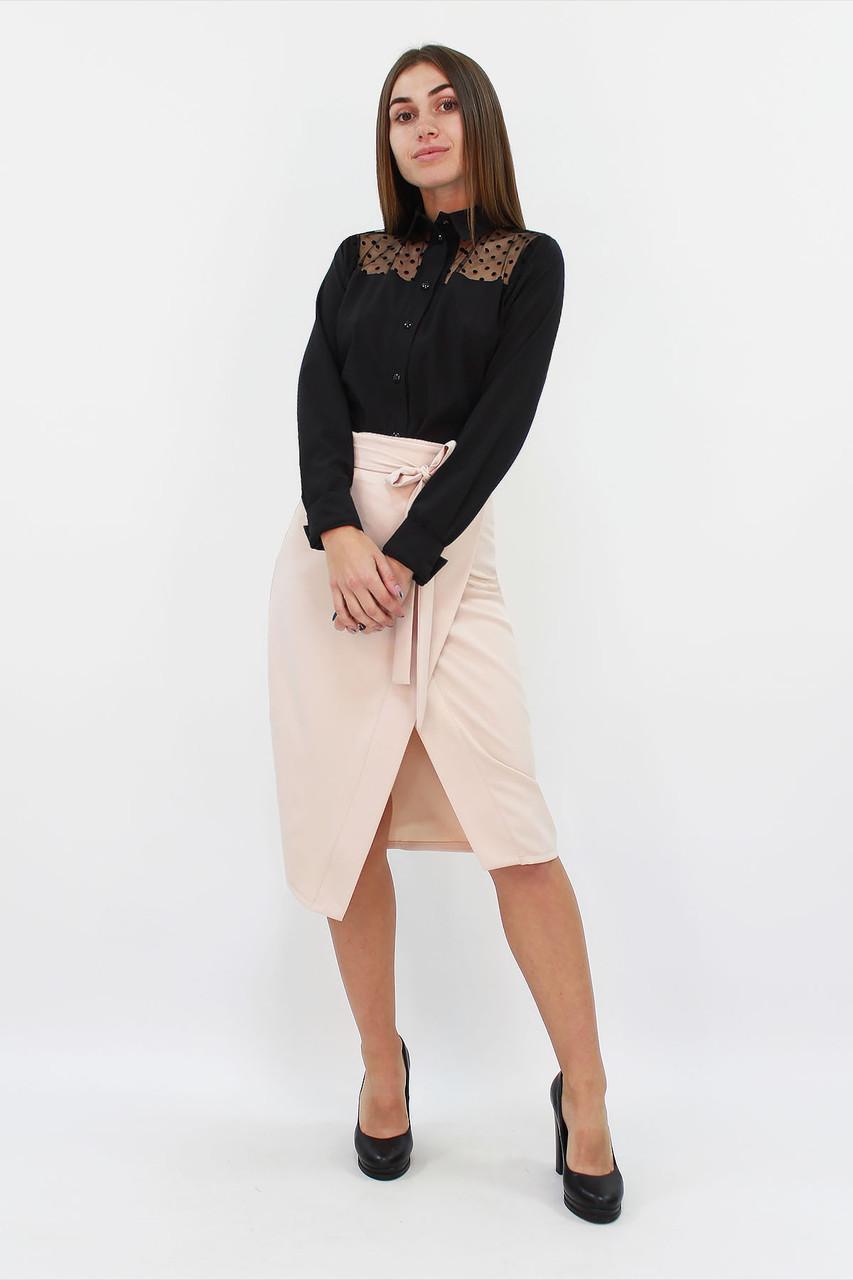 Изысканная женская юбка Nicolet, бежевый