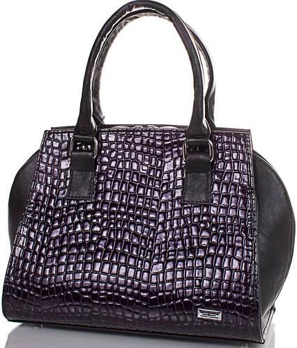 Стильная женская сумка из качественной искусственной кожи  ETERNO (ЭТЕРНО) ETMS351697-purple (фиолетовый)