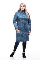 Демисезонная женская куртка ORIGA Софи 48 Синий, КОД: 1398673