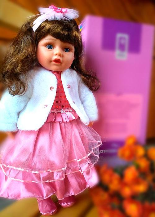 Кукла интерактивная Панночка (50 см.) большая музыкальная говорящая на украинском языке красивая (лучше Барби)