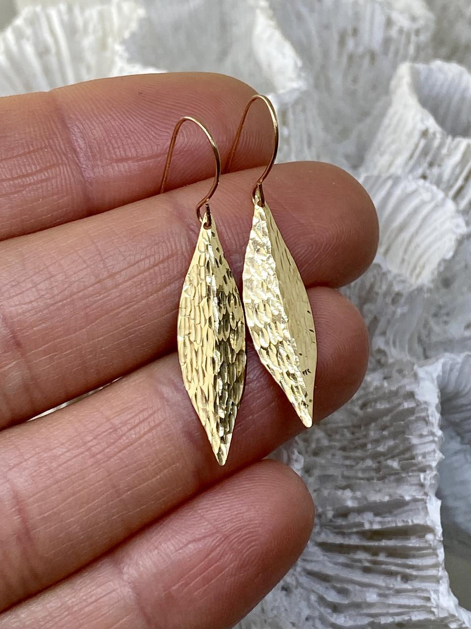 Золотые серьги   Осеннее настроение