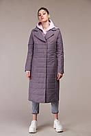 Демисезонная женская куртка ORIGA Венера 56 Серо-коричневый, КОД: 2452827