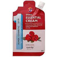 Крем для лица с улиточным муцином Eyenlip Snail Essential Cream 8809555250661, КОД: 1746777