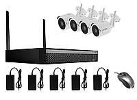 Комплект видеонаблюдения Longse WIFI2004D1SE200, КОД: 146767