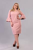 Платье Tasa 1177 50 Светло-розовое, КОД: 722630