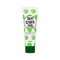 Увлажняющий крем для лица с экстрактом капусты Apieu Shredded Cabbage Cream 80 г 8809581450691, КОД: 2376355