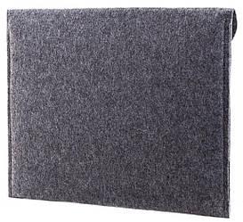 Фетровый чехол-конверт Gmakin для Macbook Retina 12 2015-2019 Серый GM61-12, КОД: 1841911