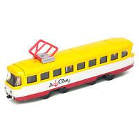 Модель Технопарк Городской трамвай Одесса SB-16-66WB-U, КОД: 2431065