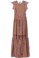Платье с кружевом HM 75878493 32 Коричневый 2000000887104, КОД: 1667115