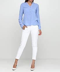 Женские брюки Mona Liza 46 Белые MN-004, КОД: 1470494