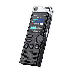 Диктофон професійний стерео Hyundai E-750 16 Гб VOX датчик голоси 03004, КОД: 1551972