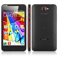 Smart Phone MTK6517 Dual Core Android 4.0 FM WiFi 5.0 Inch 4GB TF Card- Black, фото 1