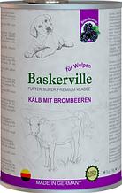 Консерви для цуценят Baskerville (Баскервіль) Супер Преміум ягня і смородина, 400 г