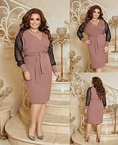 Платье женское 4168вл батал