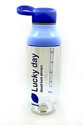 Бутылка для напитков Lucky day 500 мл Синяя 200839, КОД: 1215019