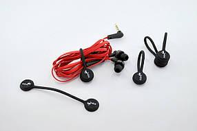 Фиксатор магнитный 4you для кабельной продукции (5шт в 1уп., цена за 1шт) Чёрный