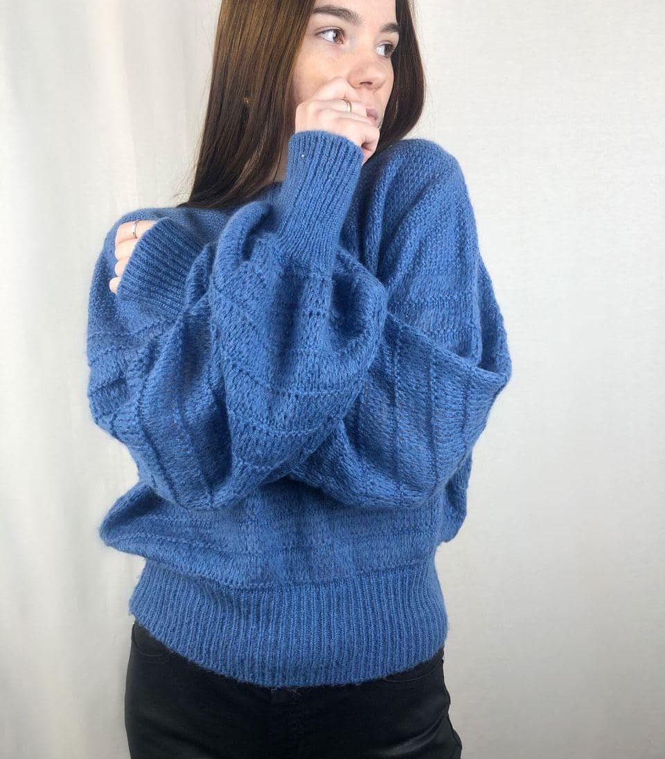 Женский тёплый свитер/ размер М