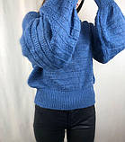 Женский тёплый свитер/ размер М, фото 2