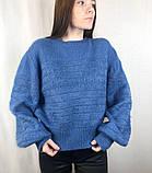 Женский тёплый свитер/ размер М, фото 3