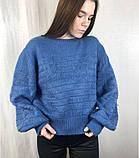 Женский тёплый свитер/ размер М, фото 5