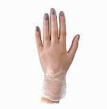 Перчатки Виниловые Medicom медицинские неопудренные прозрачные(100шт/уп.) XL, фото 3