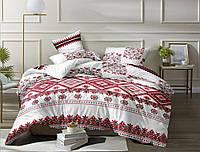 Семейный набор хлопкового постельного белья из Бязи Черешенка Gold 156184, КОД: 2396214