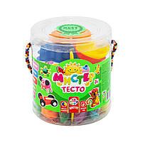 Набор теста для лепки Strateg Мистер тесто 18 цветов в блистере 71108, КОД: 2446249