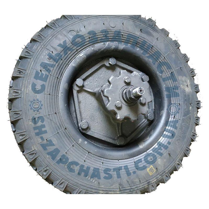 Колесо опорное СУПН-8 под цепь t=31,75 с кронштейном и механизмом передач в сборе