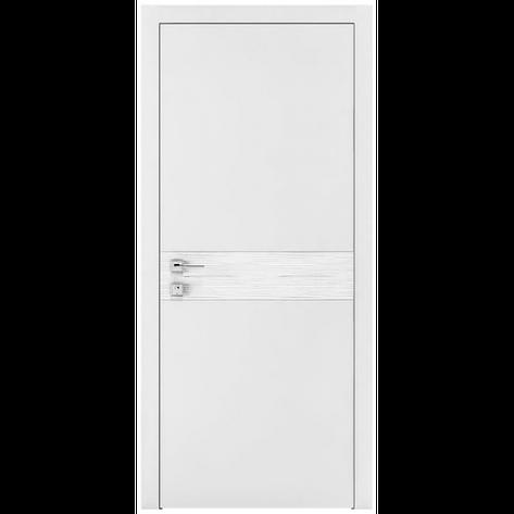 Двери RODOS Loft WAVE G белый мат, фото 2
