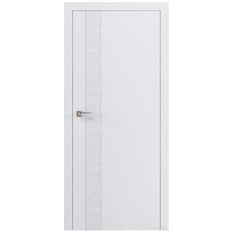 Двери RODOS Loft WAVE V белый мат, фото 2