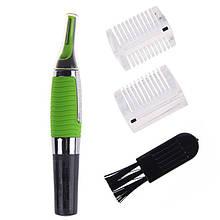 Триммер бритва для стрижки усов бакенбардов бороды носа Microtouch Универсальный Зеленый 200161, КОД: 310295