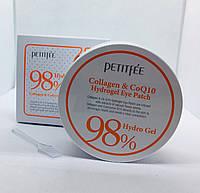 Гидрогелевые патчи с коллагеном Petitfee 98% Collagen&CoQ10 Hydro Gel Patch