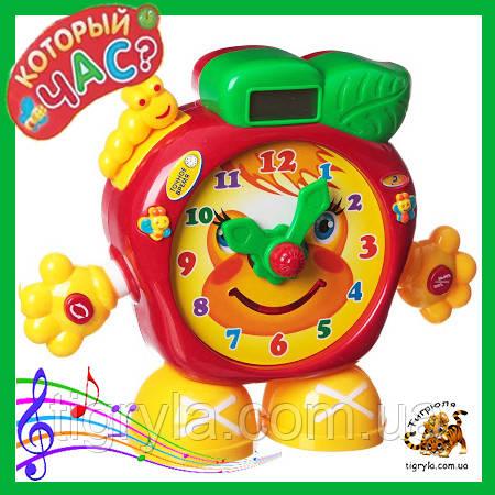 """Часы знаний - игрушка развивающая говорящие часики """"Который час?"""""""
