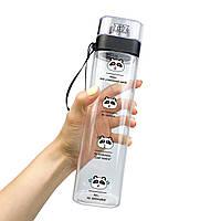 Бутылка для воды ZIZ Панды 700 мл, КОД: 2401418
