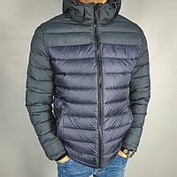 Куртка мужская зимняя синяя