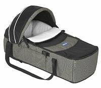 Люлька-переноска для новорожденного ребенка Chicco Sacca Transporter Серая 1119099178, КОД: 1548516